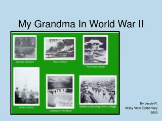 My Grandma In World War II
