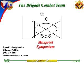The Brigade Combat Team