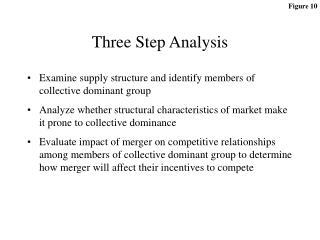 Three Step Analysis