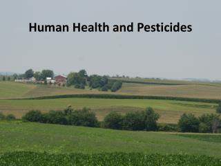 Human Health and Pesticides