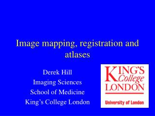 Image mapping, registration and atlases