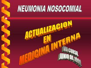 ACTUALIZACION  EN  MEDICINA INTERNA