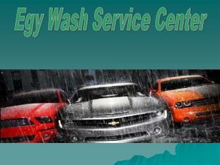 Egy Wash Services Center at Perth