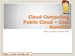 5.Cloud Computing Public Cloud _ Cost Benefits