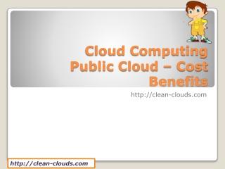 5.Cloud Computing Public Cloud _ Cost Benefits