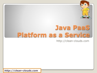 8. Java PaaS Offerings
