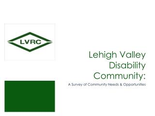 Lehigh Valley Disability Community: