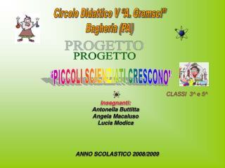 Circolo Didattico V  A. Gramsci  Bagheria PA