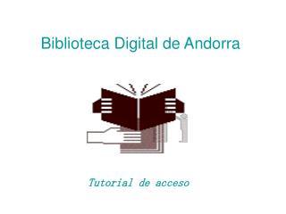 Biblioteca Digital de Andorra