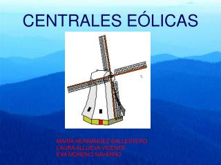 CENTRALES E LICAS