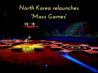 North Korea Mass Games 2018