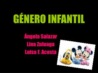 G NERO INFANTIL
