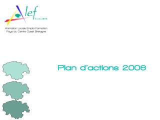 Plan d actions 2006