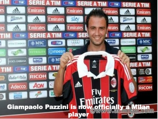 Giampaolo Pazzini Scored a Hat Trick