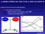 LABORAT RIO DE MEC NICA DOS FLUIDOS II
