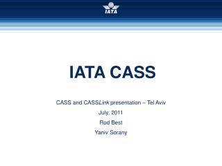 IATA CASS