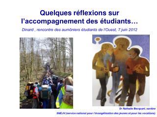 Quelques r flexions sur l accompagnement des  tudiants    Dinard , rencontre des aum niers  tudiants de l Ouest, 7 juin