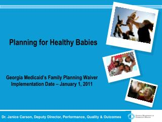 Planning for Healthy Babies