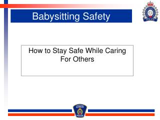 Babysitting Safety