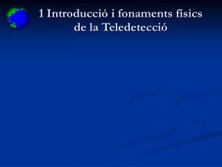 Concepte de Teledetecci