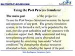 Using the Port Process Simulator
