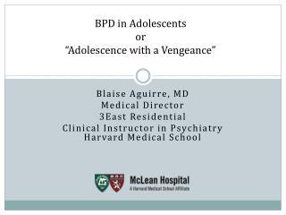BPD in Adolescents