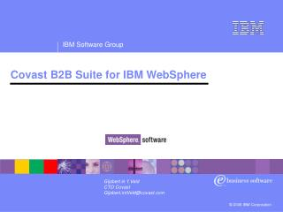 Covast B2B Suite for IBM WebSphere