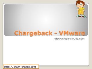 22.Chargeback - VMware