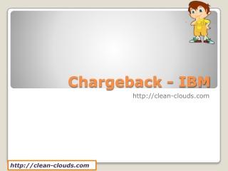 21.Chargeback - IBM