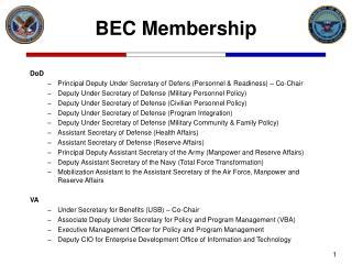 BEC Membership