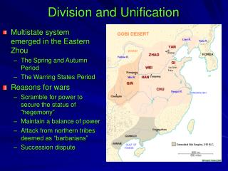 Division and Unification