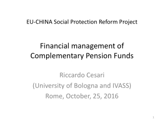 Pension Funds Performance Evaluation:  a Utility Based Approach