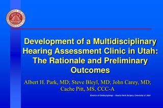 Evaluation and Management of Pediatric Hearing Loss