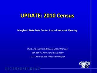UPDATE: 2010 Census