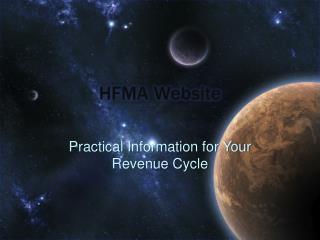 HFMA Website