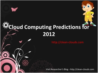 36.Cloud Computing Predictions for 2012