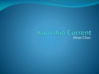 Kuroshio Current