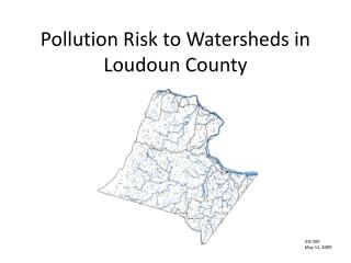 Pollution Risk to Watersheds in Loudoun County