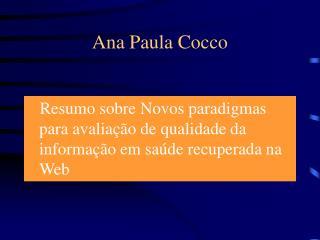 Ana Paula Cocco