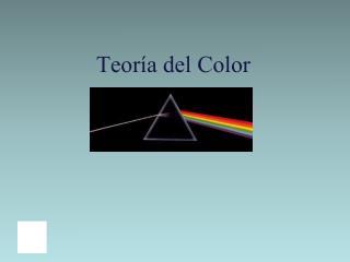 Teor a del Color