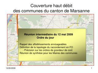 R union interm diaire du 12 mai 2009       Ordre du jour    - Rappel des affaiblissements envisageables  - D finition de