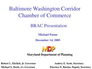 Baltimore Washington Corridor Chamber of Commerce