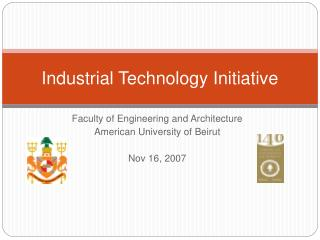 Industrial Technology Initiative