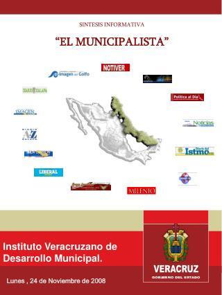Instituto Veracruzano de  Desarrollo Municipal.