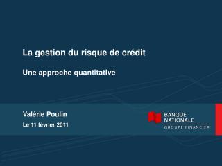 Val rie Poulin Le 11 f vrier 2011