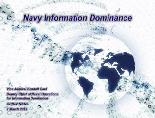 Navy Information Dominance
