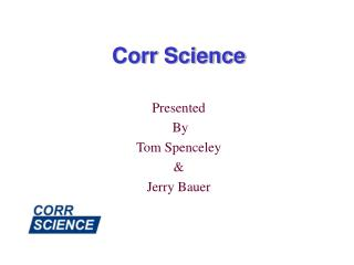Corr Science