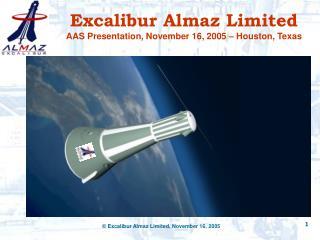 Excalibur Almaz Limited