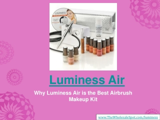 Buy Luminess Air - The Ultimate Airbrush Makeup Deal