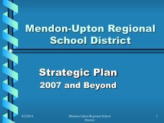 Mendon-Upton Regional School District